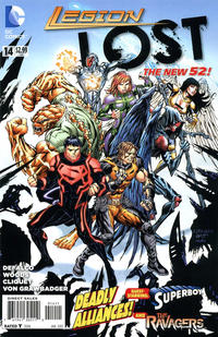 Cover Thumbnail for Legion Lost (DC, 2011 series) #14