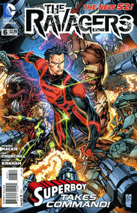 Cover Thumbnail for The Ravagers (DC, 2012 series) #6