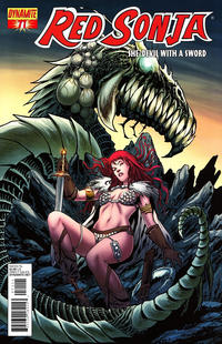 Cover Thumbnail for Red Sonja (Dynamite Entertainment, 2005 series) #71