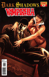 Cover Thumbnail for Dark Shadows / Vampirella (Dynamite Entertainment, 2012 series) #4