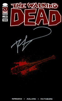 Cover Thumbnail for The Walking Dead (Image, 2003 series) #100 [Retailer Appreciation Lucille Variant Cover Signed by Robert Kirkman]