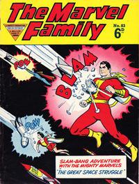 Cover Thumbnail for The Marvel Family (L. Miller & Son, 1950 series) #83