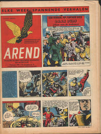 Cover Thumbnail for Arend (Bureau Arend, 1955 series) #Jaargang 9/16