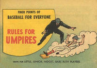 Cover Thumbnail for Rules for Umpires (Wm C. Popper & Co, 1962 series)
