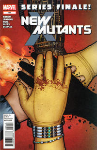 Cover Thumbnail for New Mutants (Marvel, 2009 series) #50
