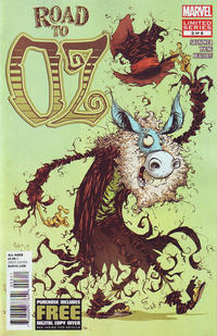 Cover Thumbnail for Road to Oz (Marvel, 2012 series) #3