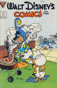 Cover Thumbnail for Walt Disney's Comics and Stories (Gladstone, 1986 series) #511 [Newsstand]