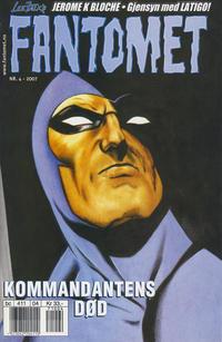 Cover Thumbnail for Fantomet (Hjemmet / Egmont, 1998 series) #4/2007