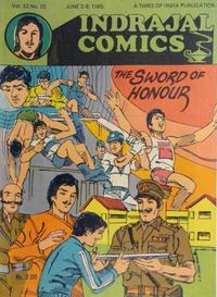 Cover Thumbnail for Indrajal Comics (Bennet, Coleman & Co., 1964 series) #v22#22 [565]
