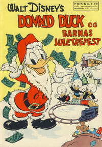 Cover Thumbnail for Walt Disney's serier (Hjemmet / Egmont, 1950 series) #12/1954