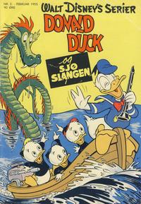 Cover Thumbnail for Walt Disney's serier (Hjemmet / Egmont, 1950 series) #2/1955