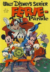 Cover Thumbnail for Walt Disney's serier (Hjemmet / Egmont, 1950 series) #6/1955