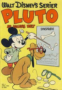 Cover Thumbnail for Walt Disney's serier (Hjemmet / Egmont, 1950 series) #4/1955