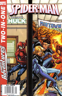 Cover Thumbnail for Marvel Adventures Two-In-One (Marvel, 2007 series) #13