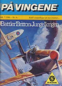 Cover for På Vingene (Serieforlaget / Se-Bladene / Stabenfeldt, 1963 series) #7/1986