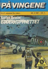 Cover Thumbnail for På Vingene (Serieforlaget / Se-Bladene / Stabenfeldt, 1963 series) #9/1987