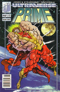 Cover Thumbnail for Prime (Malibu, 1993 series) #6 [Newsstand]