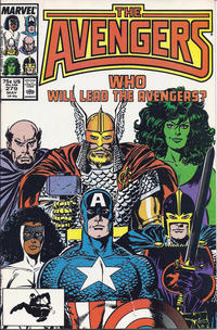 Cover Thumbnail for The Avengers (Marvel, 1963 series) #279 [Direct Edition]