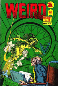 Cover Thumbnail for Weird Mystery Tales (K. G. Murray, 1972 series) #22