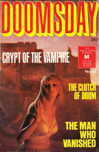 Cover Thumbnail for Doomsday (K. G. Murray, 1972 series) #16