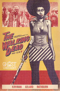 Cover Thumbnail for The Walking Dead (Image, 2003 series) #101 [Ghost Variant Cover]