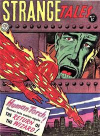 Cover Thumbnail for Strange Tales (Horwitz, 1963 series) #1