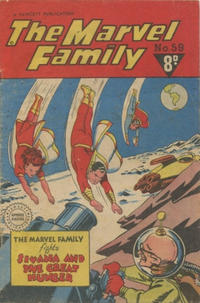 Cover Thumbnail for The Marvel Family (Cleland, 1948 series) #59