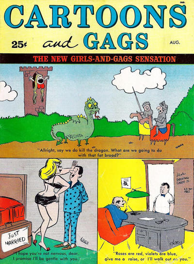 Cover for Cartoons and Gags (Marvel, 1959 series) #v8#4