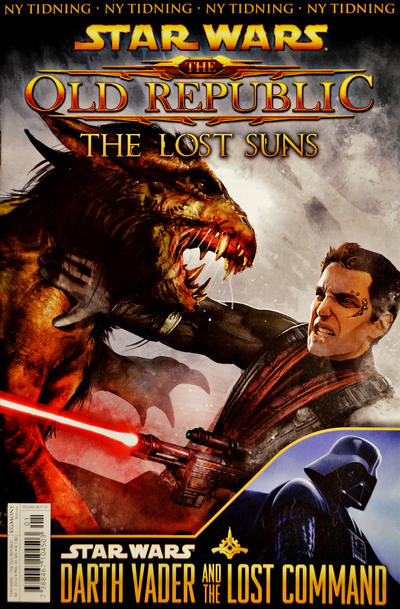 Cover for Star Wars: The Old Republic (Egmont, 2012 series) #1/2012