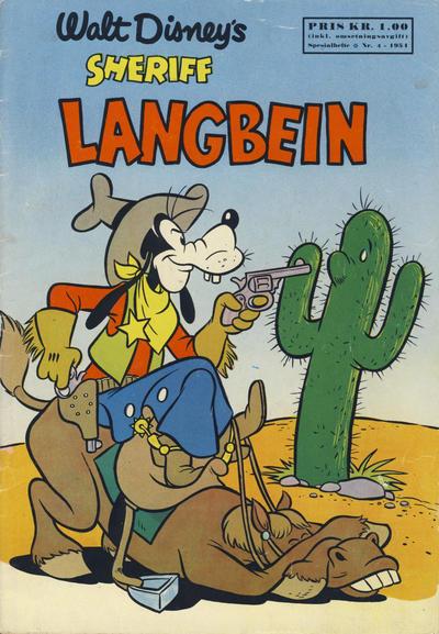 Cover for Walt Disney's serier (Hjemmet / Egmont, 1950 series) #4/1954
