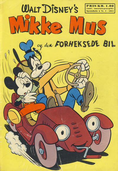 Cover for Walt Disney's serier (Hjemmet / Egmont, 1950 series) #8/1954