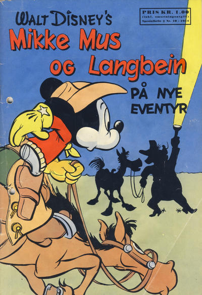Cover for Walt Disney's serier (Hjemmet / Egmont, 1950 series) #10/1954