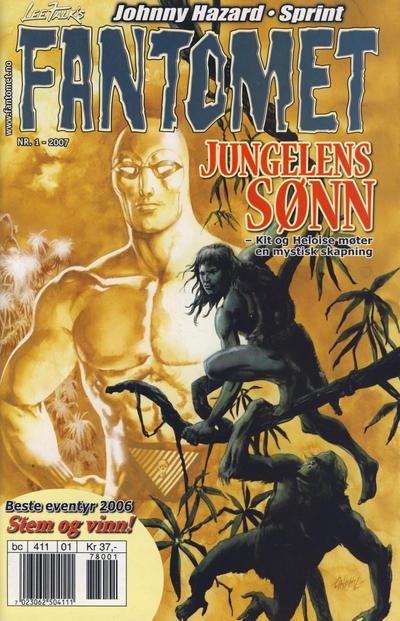 Cover for Fantomet (Hjemmet / Egmont, 1998 series) #1/2007