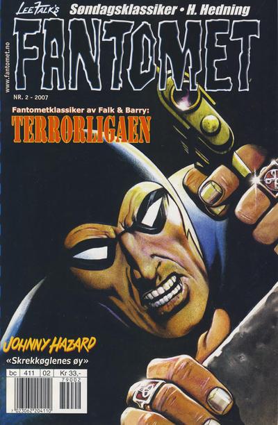 Cover for Fantomet (Hjemmet / Egmont, 1998 series) #2/2007