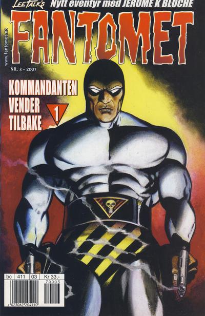 Cover for Fantomet (Hjemmet / Egmont, 1998 series) #3/2007