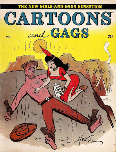 Cover for Cartoons and Gags (Marvel, 1959 series) #v3#5
