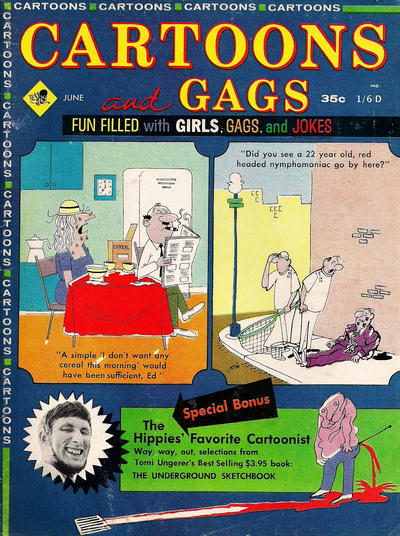 Cover for Cartoons and Gags (Marvel, 1959 series) #v11#3