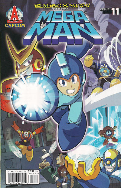 Cover for Mega Man (Archie, 2011 series) #11
