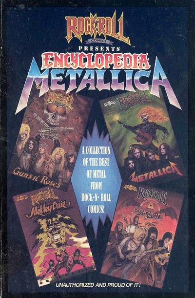 Cover for Encyclopedia Metallica (Revolutionary, 1990 series)