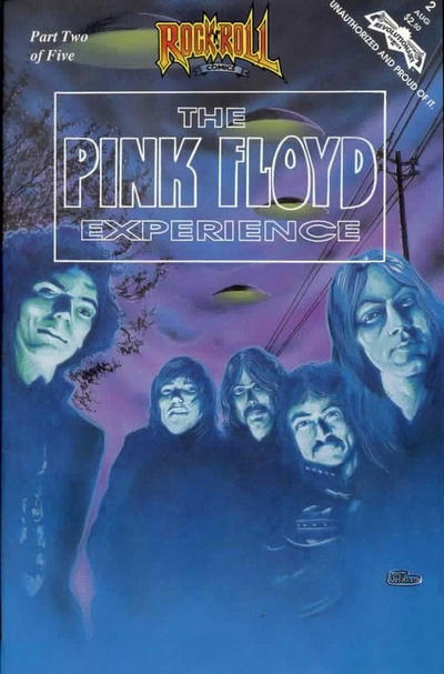 Cover for The Pink Floyd Experience (Revolutionary, 1991 series) #2