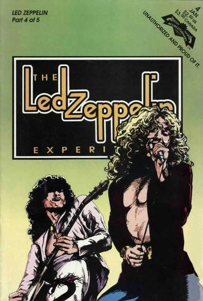 Cover for The Led Zeppelin Experience (Revolutionary, 1992 series) #4