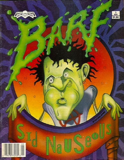 Cover for Barf (Revolutionary, 1990 series) #1