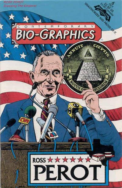 Cover for Contemporary Bio-Graphics (Revolutionary, 1991 series) #6