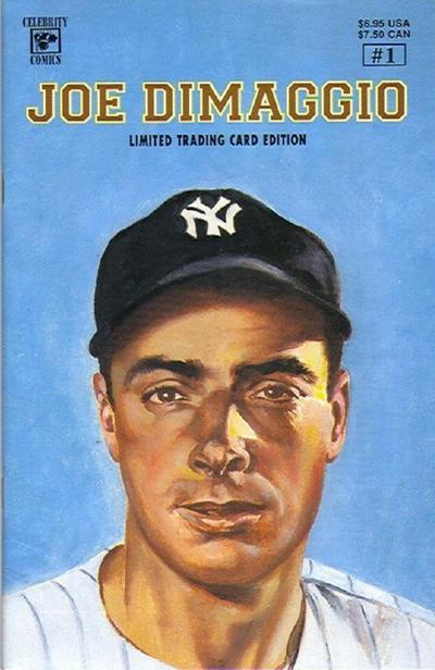 Cover for Joe Dimaggio (Personality Comics, 1992 series) #1