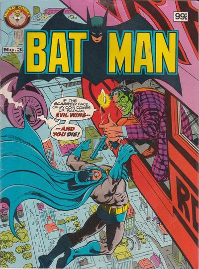 Cover for Batman (K. G. Murray, 1982 series) #3