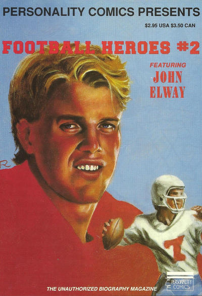 Cover for Football Heroes (Personality Comics, 1992 series) #2