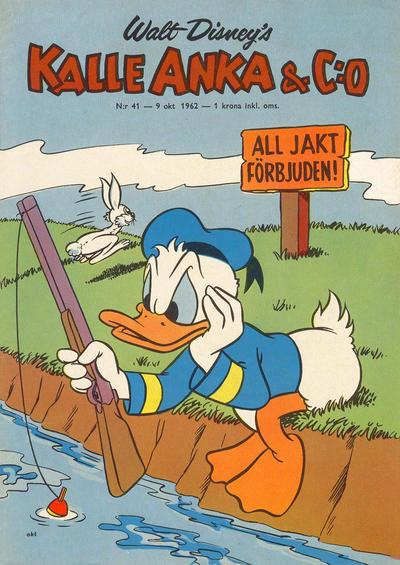 Cover for Kalle Anka & C:o (Hemmets Journal, 1957 series) #41/1962