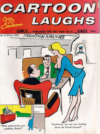 Cover for Cartoon Laughs (Marvel, 1962 series) #14