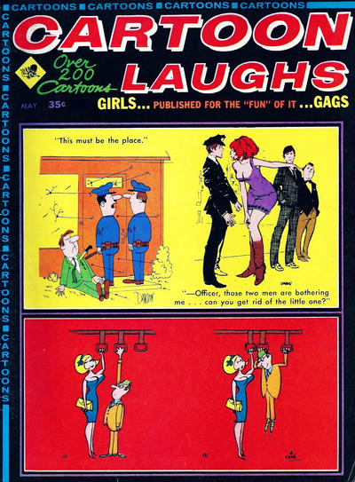 Cover for Cartoon Laughs (Marvel, 1963 series) #v7#3
