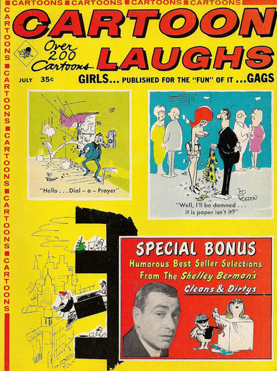 Cover for Cartoon Laughs (Marvel, 1962 series) #v7#4